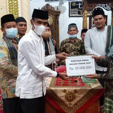 Wabup Solsel Safari Ramadan Di Masjid Nurul Ulum Lubuk Malako