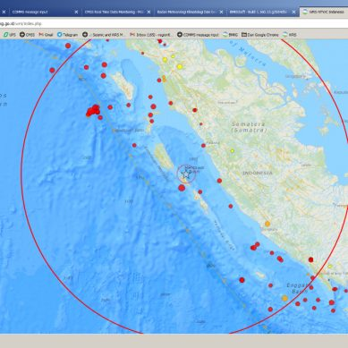 Gempa Kembali Guncang Kepulauan Mentawai