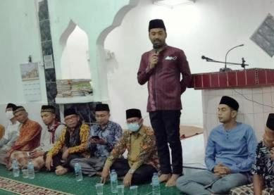 Ketua DPRD Solsel Sampaikan Pesan Presiden Jokowi Saat Safari Ramadan