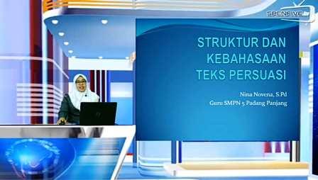 SMPN 5 Optimalkan Akun belajar.id dan Spenfive TV Saat PPKM
