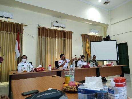 Bertemu Bupati Tana Tidung, Waka Komite I DPD RI Kecam Inhutani Masih Tagih Rp 50 M Sewa Kantor Pemkab