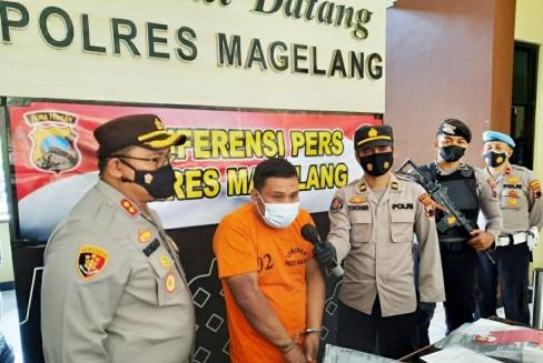 Polres Magelang Bekuk Pelaku Pencurian Uang Rp. 68 Juta Di Dua Apotek