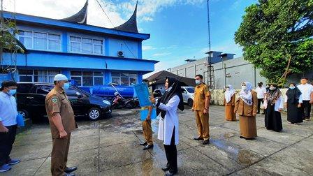 Kominfo Laksanakan Apel Perdana Sesuai Instruksi Menpan RB