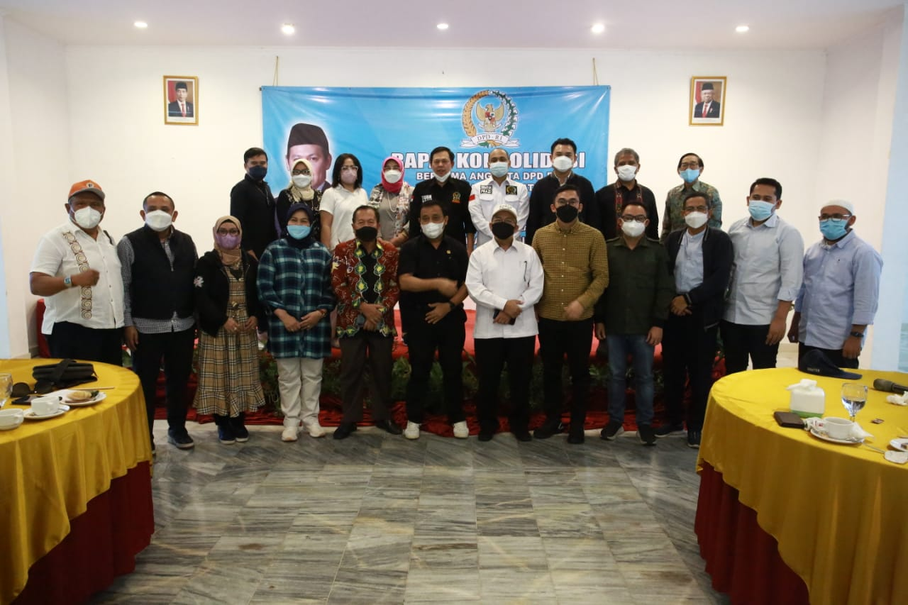 Senator Se-Wilayah Sumatera Bahas Amandemen Hingga Perubahan Iklim